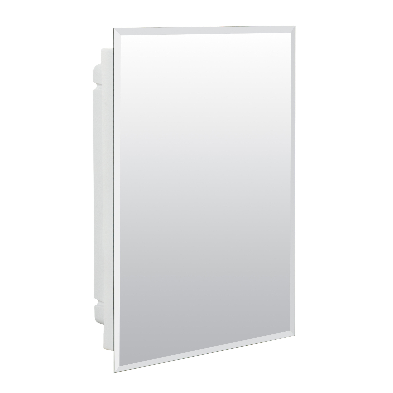 Wondrous Lamberson 16 X 22 Recessed Frameless Medicine Cabinet With 2 Adjustable Shelves Home Interior And Landscaping Mentranervesignezvosmurscom