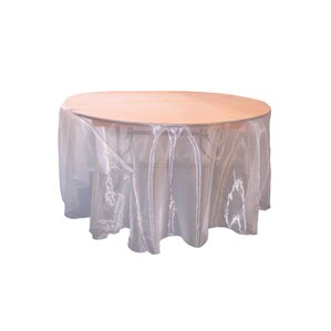 Awesome Organza Sheer Round Tablecloth