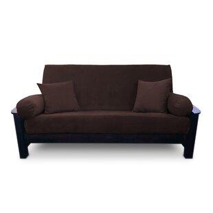 save to idea board armless futon slipcover   wayfair  rh   wayfair