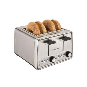 4 Slice Modern Toaster