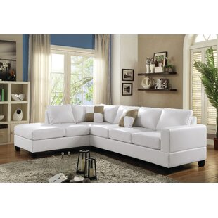 Chaise Sofa White Sectionals You Ll Love Wayfair
