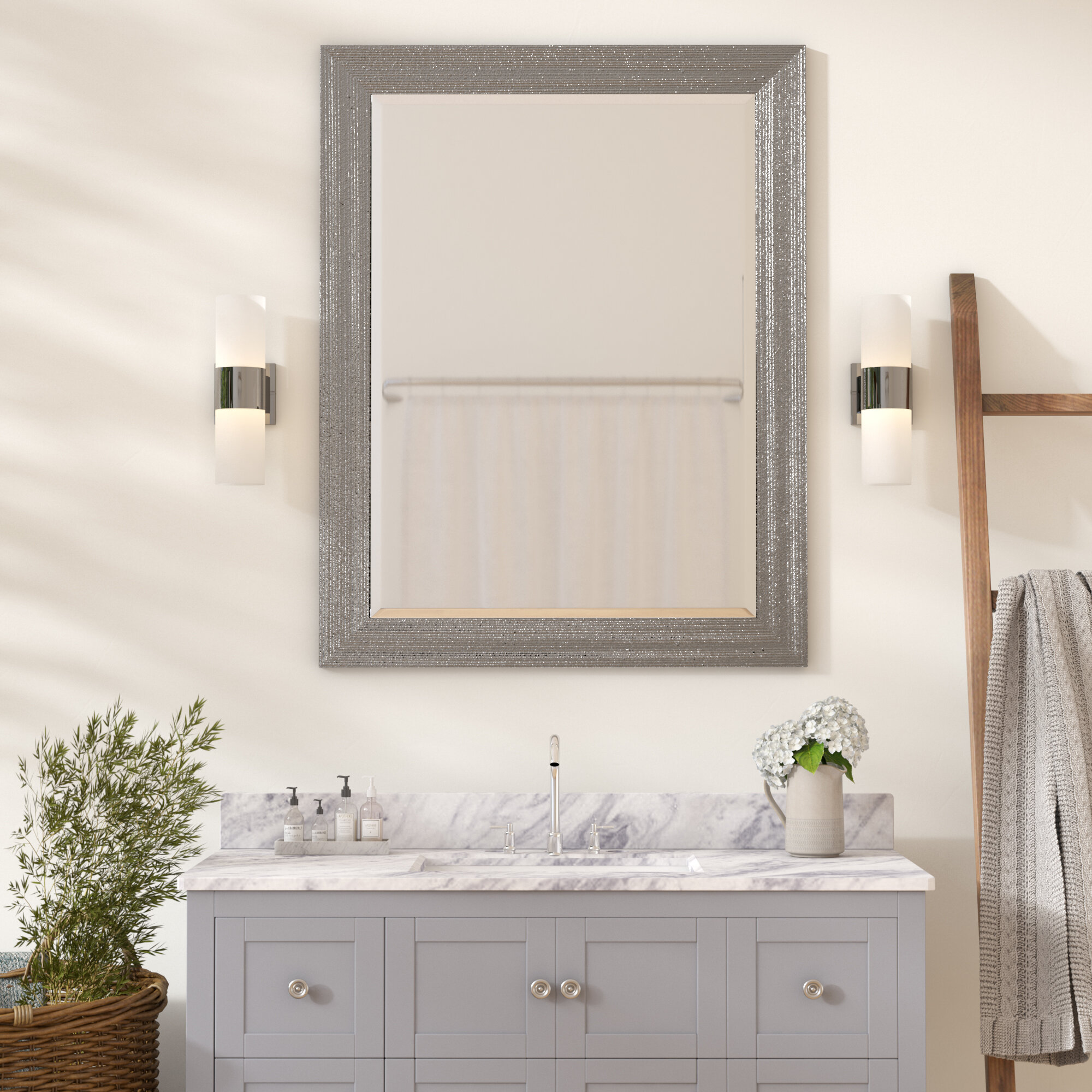 Delicieux Zipcode Design Brynlee Beveled Edge Bathroom/Vanity Wall Mirror U0026 Reviews |  Wayfair