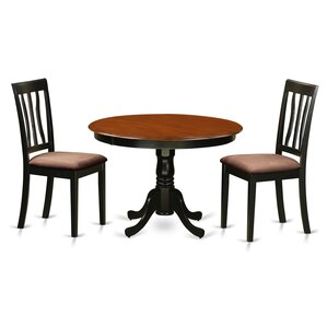 Hartland 3 Piece Dining Set by Wooden Imp..