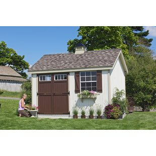 127cc4175f4 Colonial Pinehurst Wooden Storage Shed