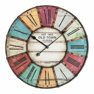 Lacon Oversized 60cm Vintage Wall Clock