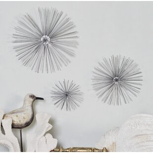 Captivating 3 Piece Star Metal Wall Decor Set