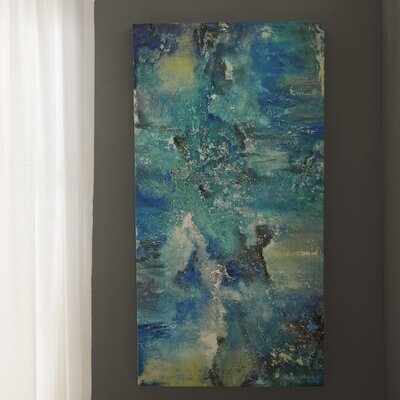 Wrought Studio 'Dream' Graphic Art on Wrapped Canvas Size: 30 H x 60 W x 1.5 D