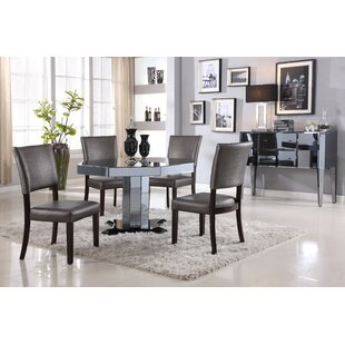 Glass And Mirror Dining Table | Wayfair