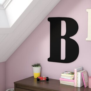 Damaris Oversized Painted Letter Hanging Initial