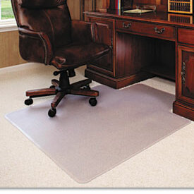 & Deflecto Classic ExecuMat High Pile Carpet Beveled Chair Mat | Wayfair
