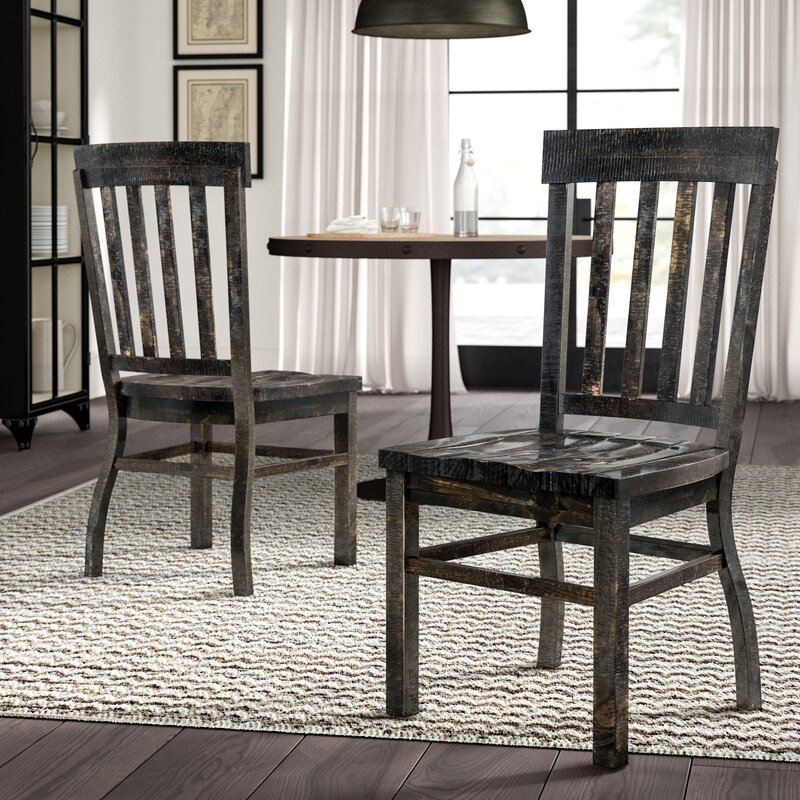 Ellenton Coffee Table With Storage: Ellenton Solid Wood Dining Chair & Reviews
