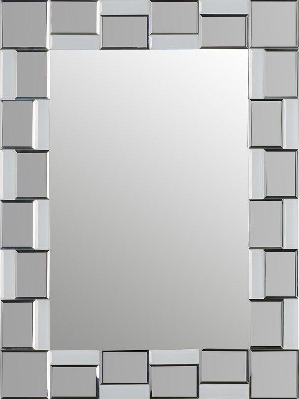 logan modern wall mirror - Modern Mirrors