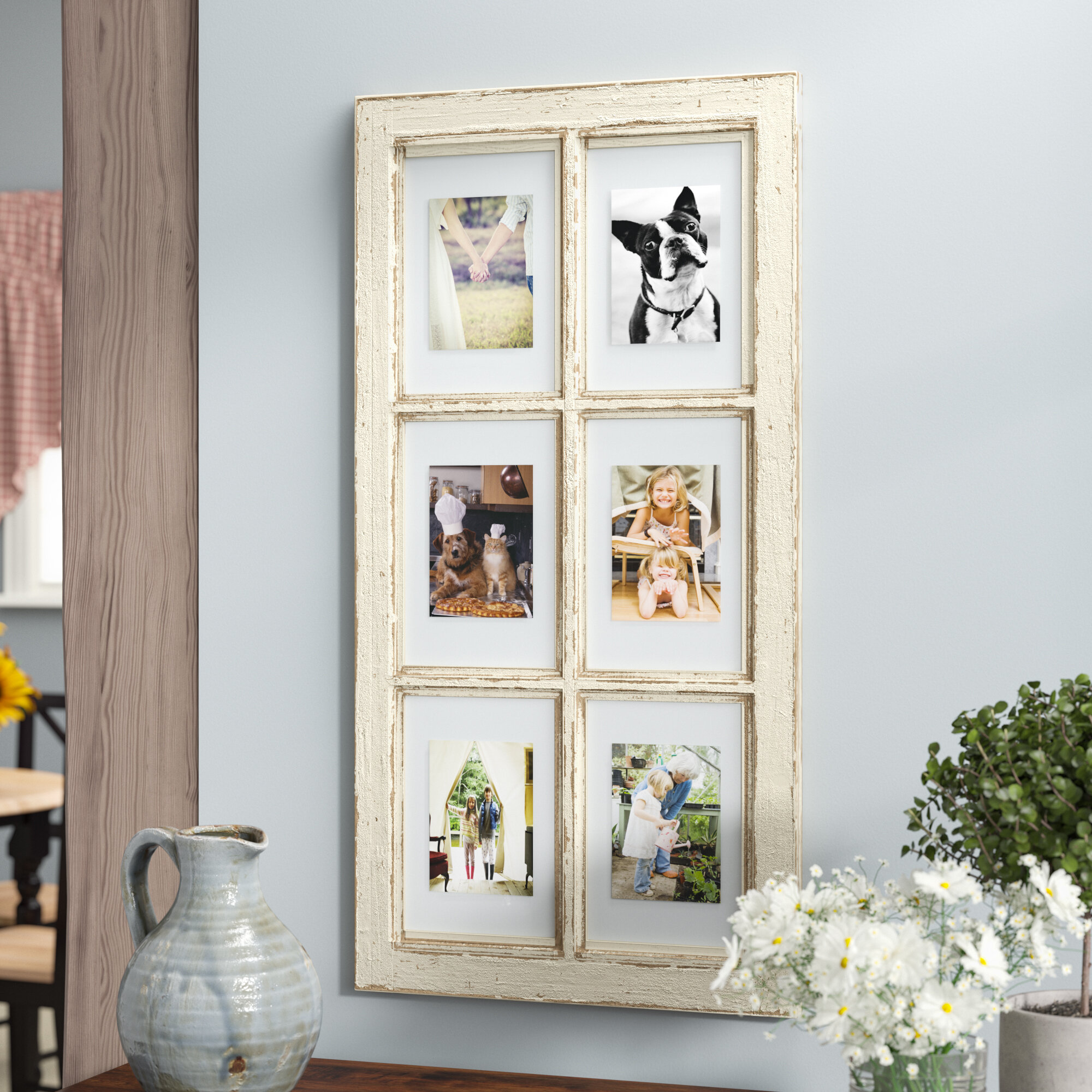 August Grove Pisano Window Pane Picture Frame & Reviews | Wayfair