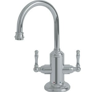Franke Farmhouse Little Butler Double Handle Deck Mounted Kitchen Faucet