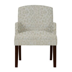 Keisha Gray Fabric Arm Chair by Darby Hom..