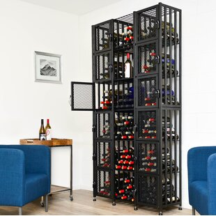 Locker 192 Bottle Floor Wine Rack