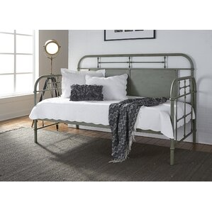 Weinstein Twin Metal Daybed by Harriet Bee