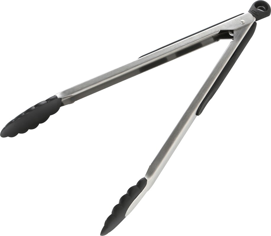 2 Tongs: OXO Good Grips Tongs With Nylon Heads & Reviews