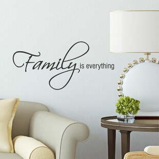 Family Is Everything Wall Quotes™ Decal
