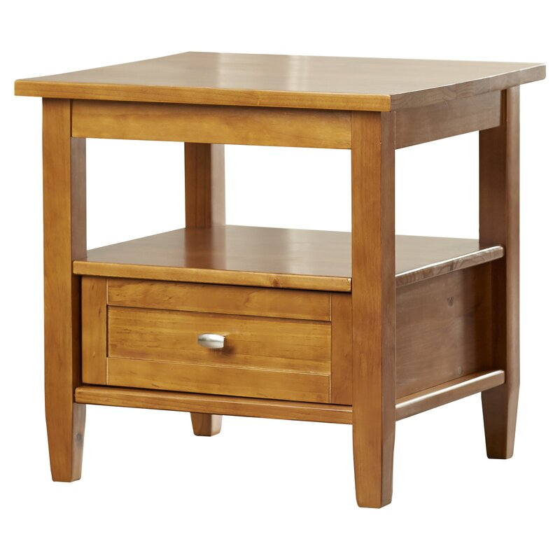 Gendron End Table With Storage