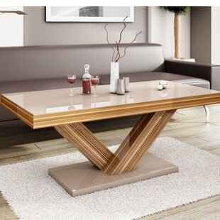 Spool Leg Coffee Table | Wayfair