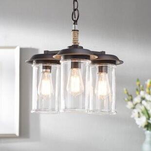Coastal chandeliers youll love wayfair sorrell 3 light mini chandelier mozeypictures Images