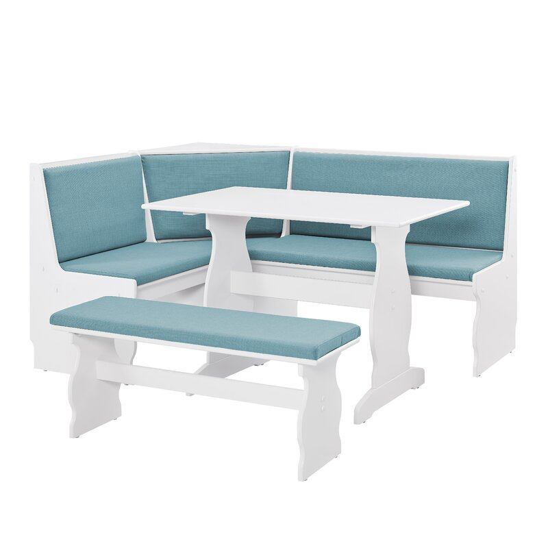 Perfect Olivia Nook Traditional 3 Piece Dining Set