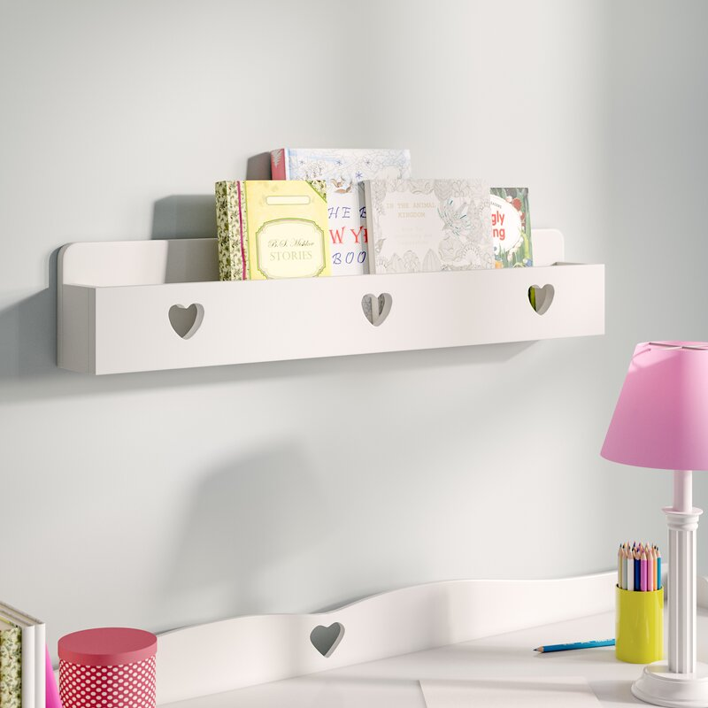 Love Hearts 148cm Bookshelf