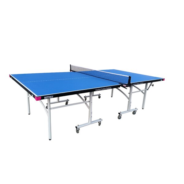 Butterfly easifold outdoor table tennis table reviews wayfair - Outdoor table tennis table reviews ...