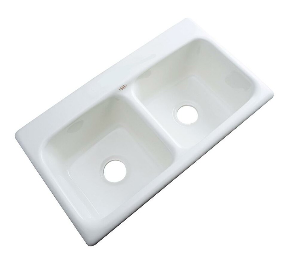 Solidcast Portland 33 L X 19 W Kitchen Sink Reviews Wayfair