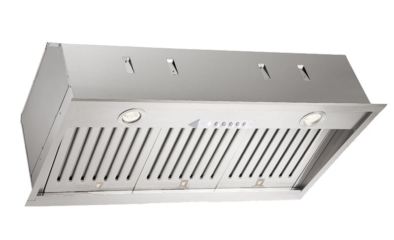 Xo Ventilation 34 Fabriano 600 Cfm Convertible Insert Range Hood Reviews Wayfair Ca