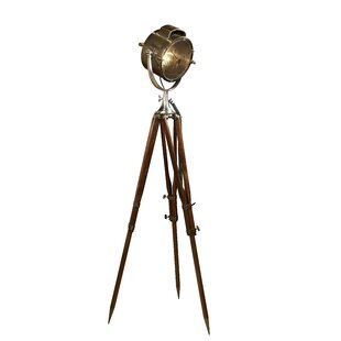 Tripod spot light floor lamp wayfair coast guard patrol spotlight 71 tripod floor lamp audiocablefo