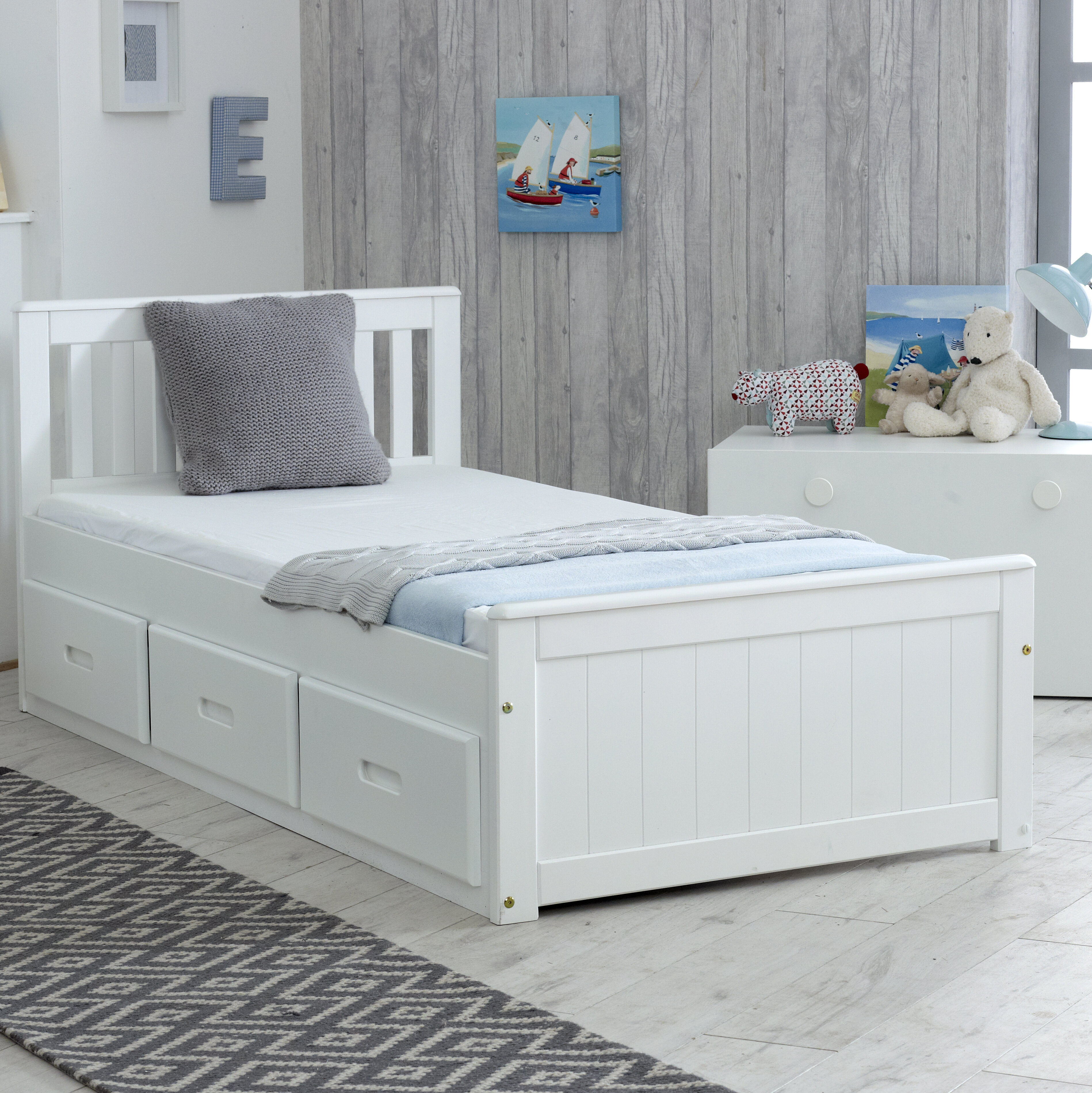 Just Kids Single Cabin Bed With Drawers Reviews