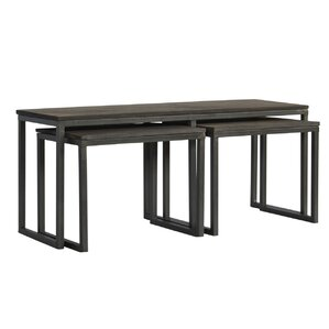 Begum 3 Piece Coffee Table Set