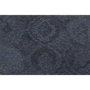 Cherrelle Hand-Hooked Wool Navy Area Rugu00a0