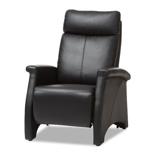 Flemingdon Club Manual Recliner  sc 1 st  AllModern : contemporary leather recliner - islam-shia.org