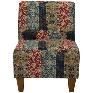 Teal Armless Chair | Wayfair