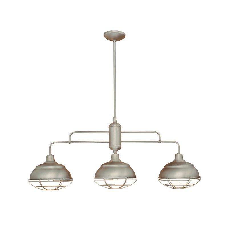 bruges 3 light kitchen island pendant trent austin design bruges 3 light kitchen island pendant      rh   wayfair com