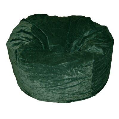 Ahh! Products Bean Bag Chair Upholstery: Dark Green