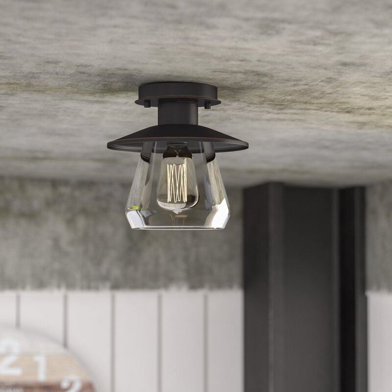 La Grange 1 Light Semi Flush Mount