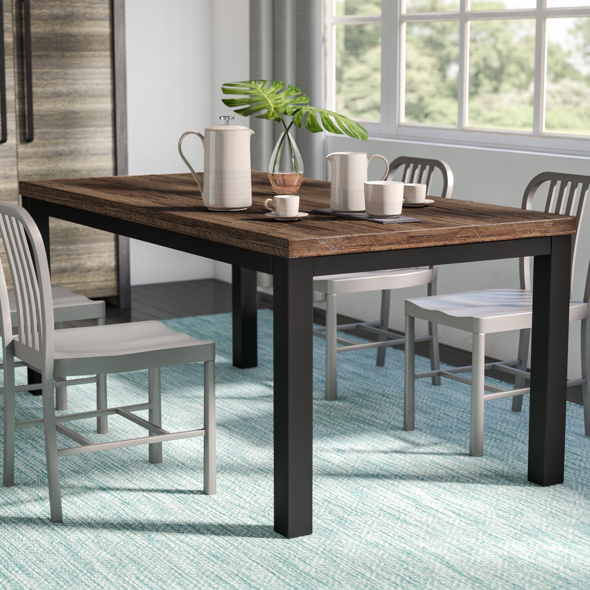 Mercury Row Leo Dining Table & Reviews | Wayfair