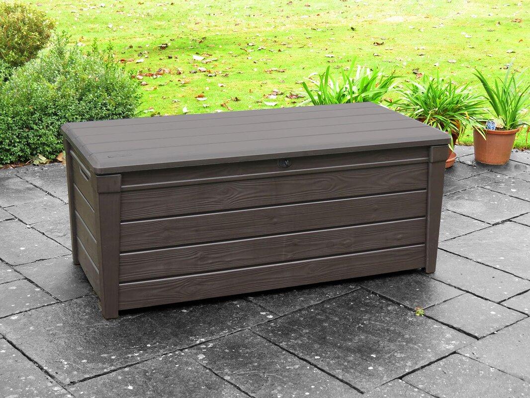 Brightwood 120 Gallon Resin Deck Box