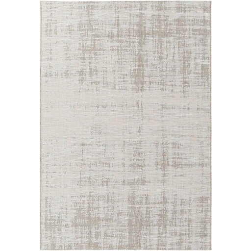 Alston Brown/Neutral Indoor/Outdoor Area Rug & Reviews | Birch Lane