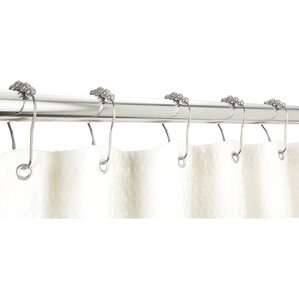 Exceptional Bath Bliss Shower Curtain Hooks (Set Of 12)