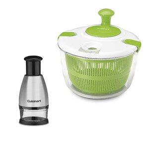 2 Piece Salad Spinner Set