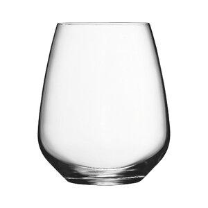 Crescendo 25 oz. Stemless Wine Glass (Set of 4)
