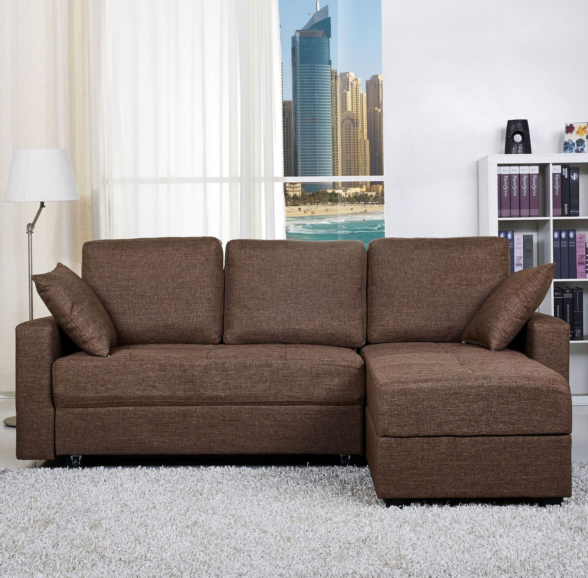 out sofa comfortable beige chair sleeper bed couch with pull twin sectional