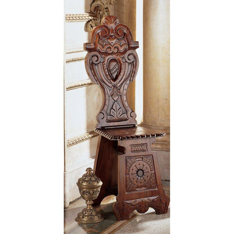Demedici Palace Renaissance Side Chair