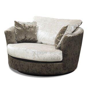 Zinc Swivel Tub Chair