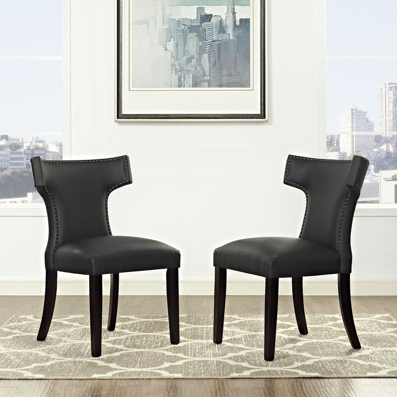 Curve Upholstered Dining Chair